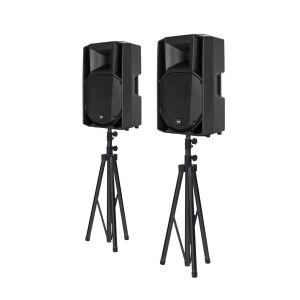 RCF ART 712-A MK4 Bundle + Lautsprecherstative