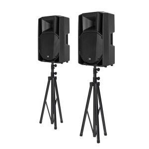 RCF ART 715-A MK4 Bundle + Lautsprecherstative