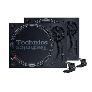 242496 Technics SL-1210 MK7 Bundle + Reloop OM Black - Perspektive