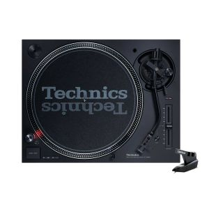 242501 Technics SL-1210 MK7 + Reloop OM Black - Perspektive