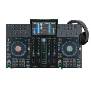Denon DJ Prime 4 + Reloop RHP-20 Knight