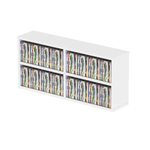 242781 Glorious CD Box 180 White - Perspektive