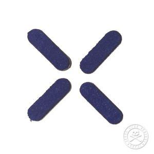 243052 Jesse Dean Numark PT01 Felt Replacements Blue - Perspektive