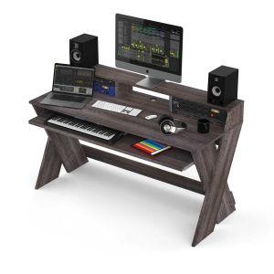 243153 Glorious Sound Desk Pro Walnut - Perspektive