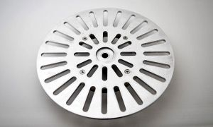 243199 SolidCutz Classic Plate X One Silver für Numark PT01 Scratch - Perspektive