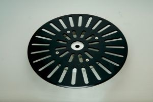243200 SolidCutz Classic Plate X One Black für Numark PT01 Scratch - Perspektive