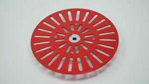 243201 SolidCutz Classic Plate X One Red für Numark PT01 Scratch - Perspektive