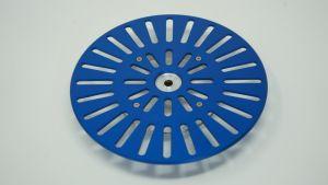 243202 SolidCutz Classic Plate X One Blue für Numark PT01 Scratch - Perspektive