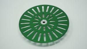 243203 SolidCutz Classic Plate X One Green für Numark PT01 Scratch - Perspektive