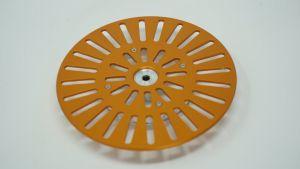 243204 SolidCutz Classic Plate X One Orange für Numark PT01 Scratch - Perspektive