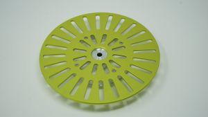 243213 SolidCutz Classic Plate Yellow für Numark PT01 Scratch - Perspektive