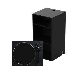 243312 Glorious Modular Mix Rack Black + Reloop Turn 2 black - Perspektive