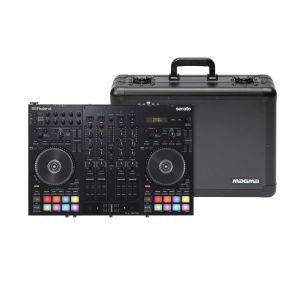 243314 Roland DJ-707M + Magma Carry Lite DJ-Case L - Perspektive