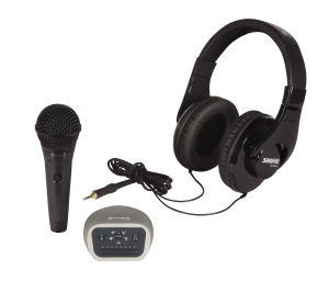 243373 Shure Digital Recording Kit bestehend 1x PGA58-XLR + 1x SRH240A + 1x MVI/A-LTG - Perspektive