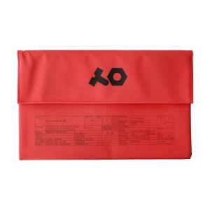 243401 Teenage Engineering OP-Z PVC Roll Up Bag Red - Perspektive