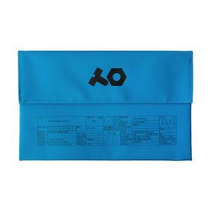 243402 Teenage Engineering OP-Z PVC Roll Up Bag Blue - Perspektive