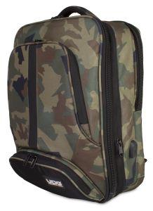 UDG Ultimate Backpack Slim Black Camo Orange inside