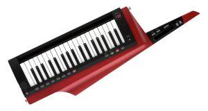 243714 Korg Keytar RK-100S2 Rot - Perspektive