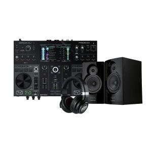243753 Denon DJ PRIME GO + Reloop RHP-15 + Reloop ADM-5 - Perspektive