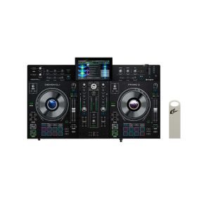 243755 Denon DJ PRIME 2 + Elevator USB Stick 32 GB - Perspektive