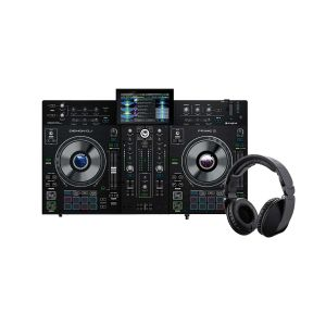 243756 Denon DJ PRIME 2 + Reloop RHP-20 Knight - Perspektive