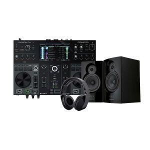 243758 Denon DJ PRIME 2 + Reloop RHP-20 Knight + Reloop ADM-5 - Perspektive