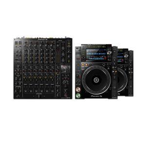 243759 Pioneer DJM-V10 + 2x CDJ-2000 NXS2 - Perspektive