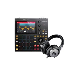 243762 Akai Professional MPC ONE+ Reloop SHP-8 - Perspektive