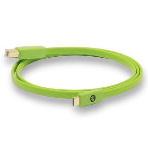 243796 NEO-W by Oyaide d+ Typ USB-C/-B Kabel 0,7m - Perspektive