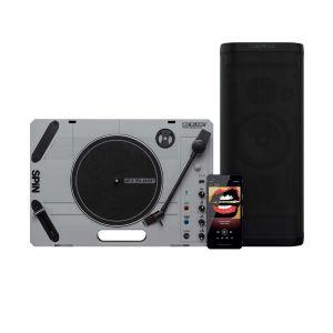 243829 Reloop SPIN + Groove Blaster BT Bundle - Perspektive