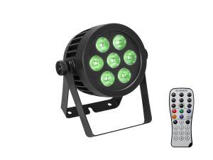 243834 Eurolite LED IP PAR 7x8W QCL Spot - Perspektive