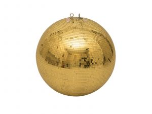 243867 Eurolite Spiegelkugel 50cm gold - Perspektive