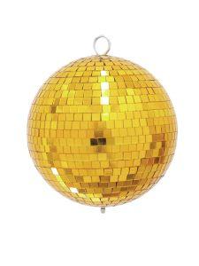 243876 Eurolite Spiegelkugel 20cm gold - Perspektive