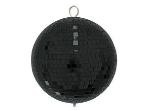 243877 Eurolite Spiegelkugel 20cm schwarz - Perspektive