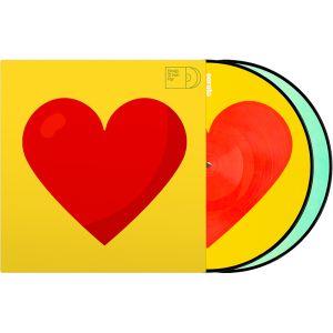 """243949 Serato 2x12"""" Emoji Picture Vinyl Pressung """"Donut/Heart"""" - Perspektive"""