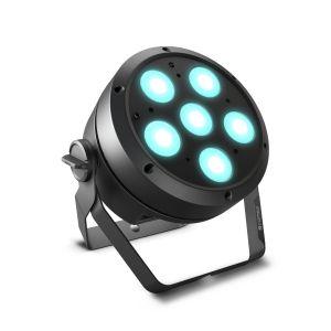 244011 Cameo ROOT PAR 6 6 x 12W RGBAW + UV PAR Scheinwerfer - Perspektive