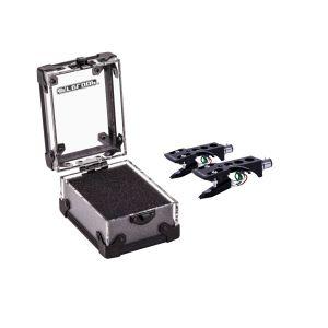 244024 Reloop OM Black Twin Set + Headshell + Cartridge Case - Perspektive