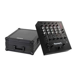 244033 Numark M6 USB Black + Reloop Mixer Case - Perspektive