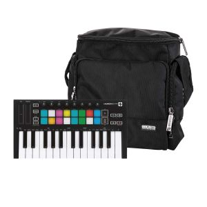 244049 Novation Launchkey Mini MK3 + Reloop Laptop Bag - Perspektive