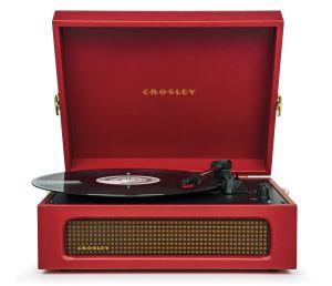 244076 Crosley Voyager Burgundy - Top