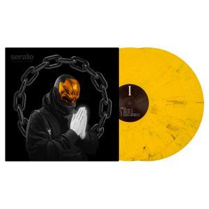 "244110 Serato 2x12"" UZ ""REAL TRAP SHIT 1-5"" Control Vinyl Pressung - Perspektive"