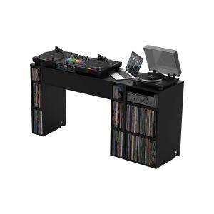 244202 Glorious Modular Mix Station Black +  Modular Mix Rack Black - Perspektive