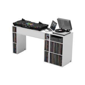 244203 Glorious Modular Mix Station White +  Modular Mix Rack White - Perspektive