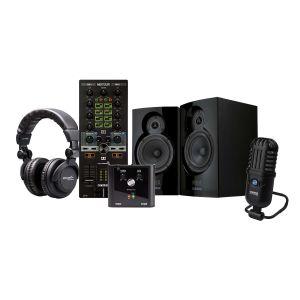 244252 Elevator Broadcast Bundle djay Reloop Mixtour + sPodcaster Go + ADM-5 + iPhono 2 + Elevator DJ-1000 - Perspektive