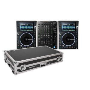 244284 Denon DJ Prime Bundle 2x SC6000M PRIME + X1850 PRIME +  +  Magma Multi-Format Workstation + 2x Link Kabel - Perspektive