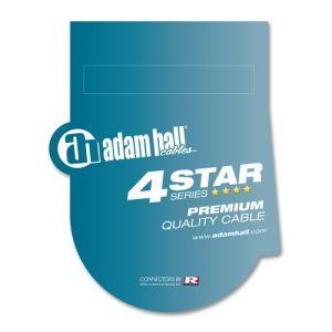244316 Adam Hall Cables K4 YWPP 0150 Audiokabel REAN 3,5 mm Klinke stereo auf 2 x 6,3 mm Klinke mono 1,5 m - Perspektive