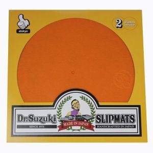 """244357 Dr.Suzuki 12"""" Slipmats Mix-Edition Orange - Perspektive"""