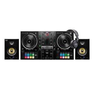 244371 Hercules DJControl Inpulse 500 + DJ Monitor 5 + Elevator DJ-1000 - Perspektive
