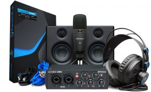 244416 PreSonus AudioBox Studio Ultimate Bundle 25th Anniversary Edition - Perspektive