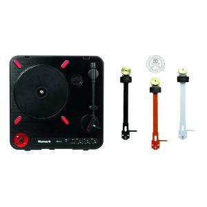 244459 Numark PT01 Scratch + Jesse Dean PCB Portable Tone Arm Black - Perspektive